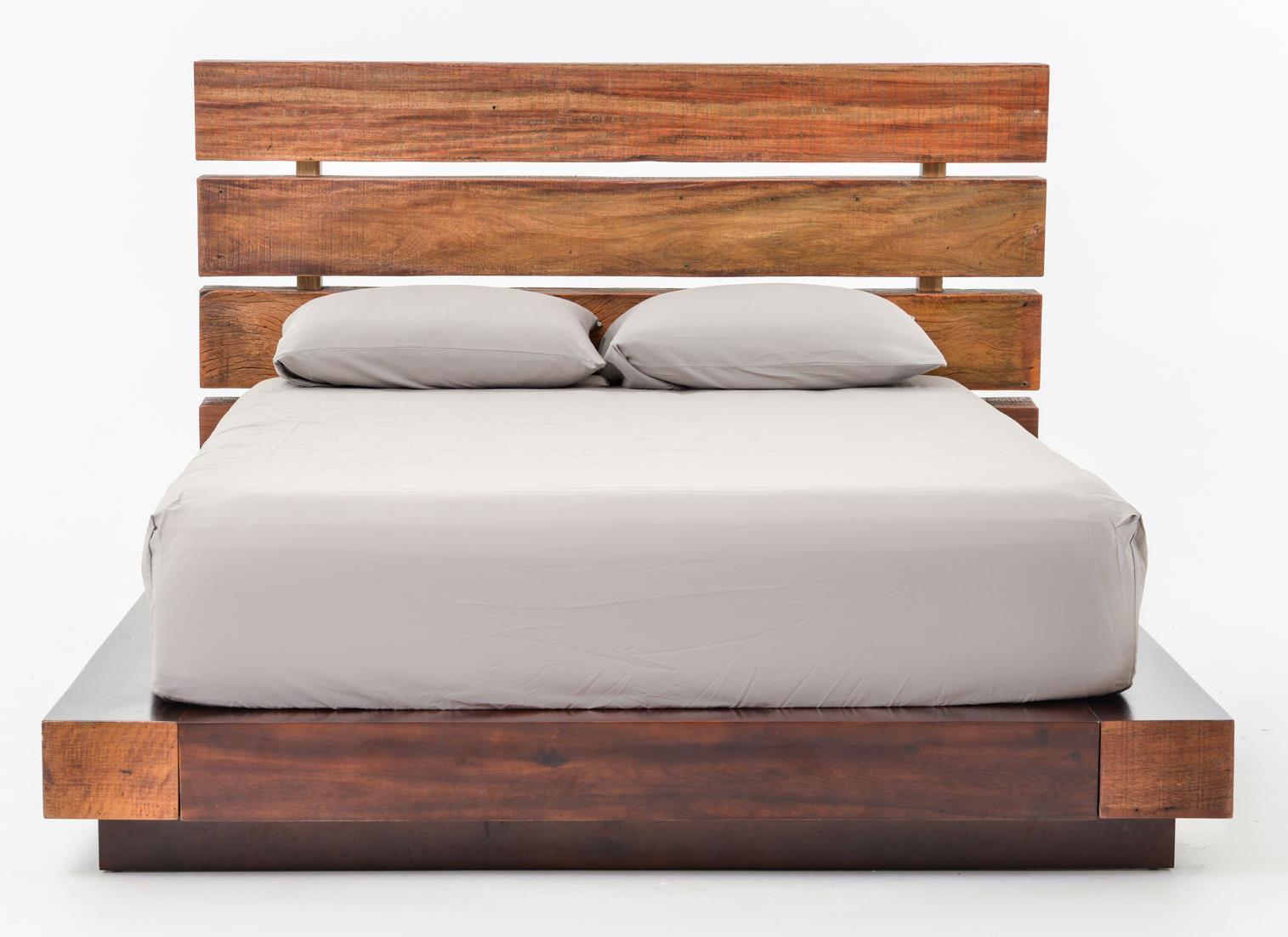 bina iggy reclaimed wood king bed