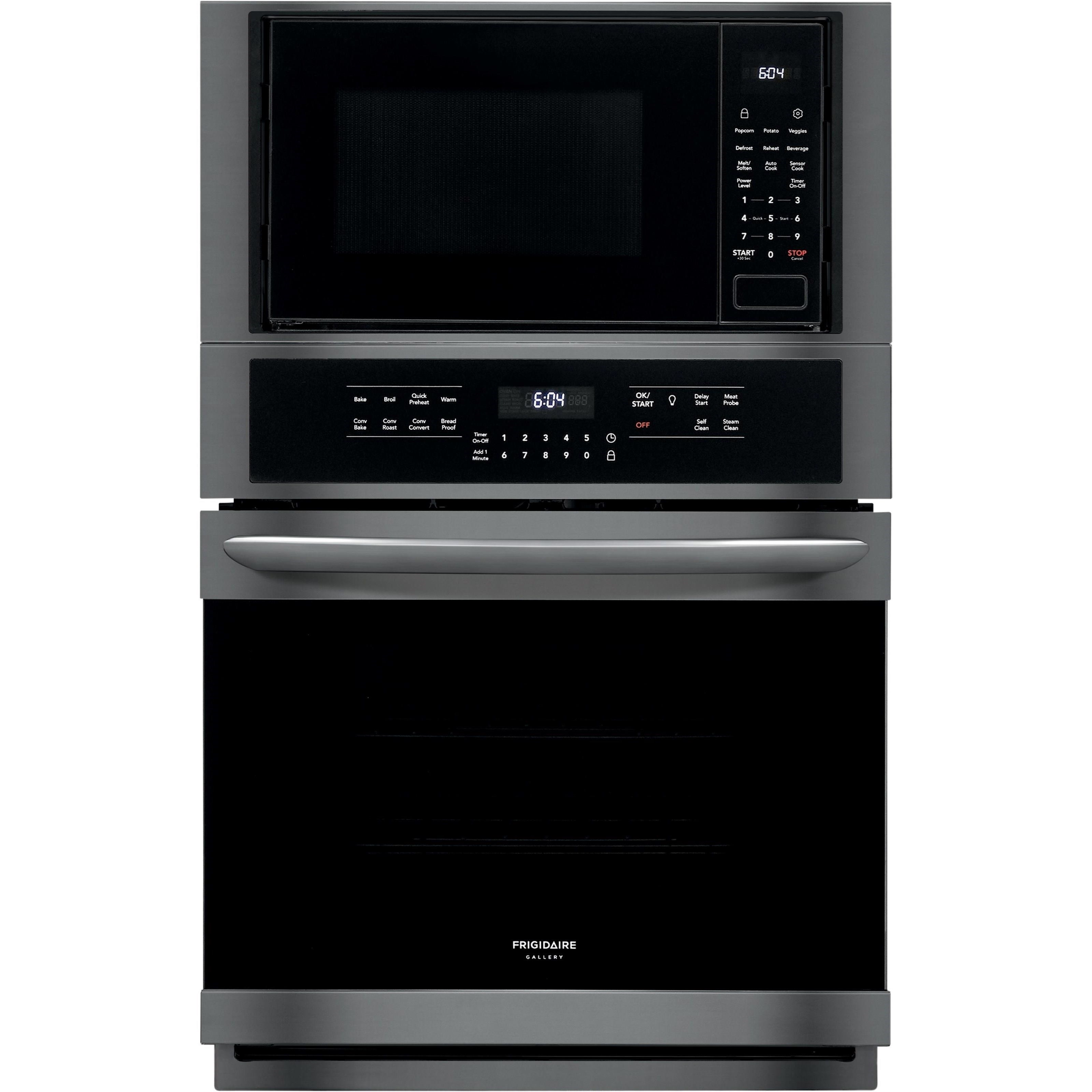 frigidaire gallery ovens 27 electric wall oven microwave combination