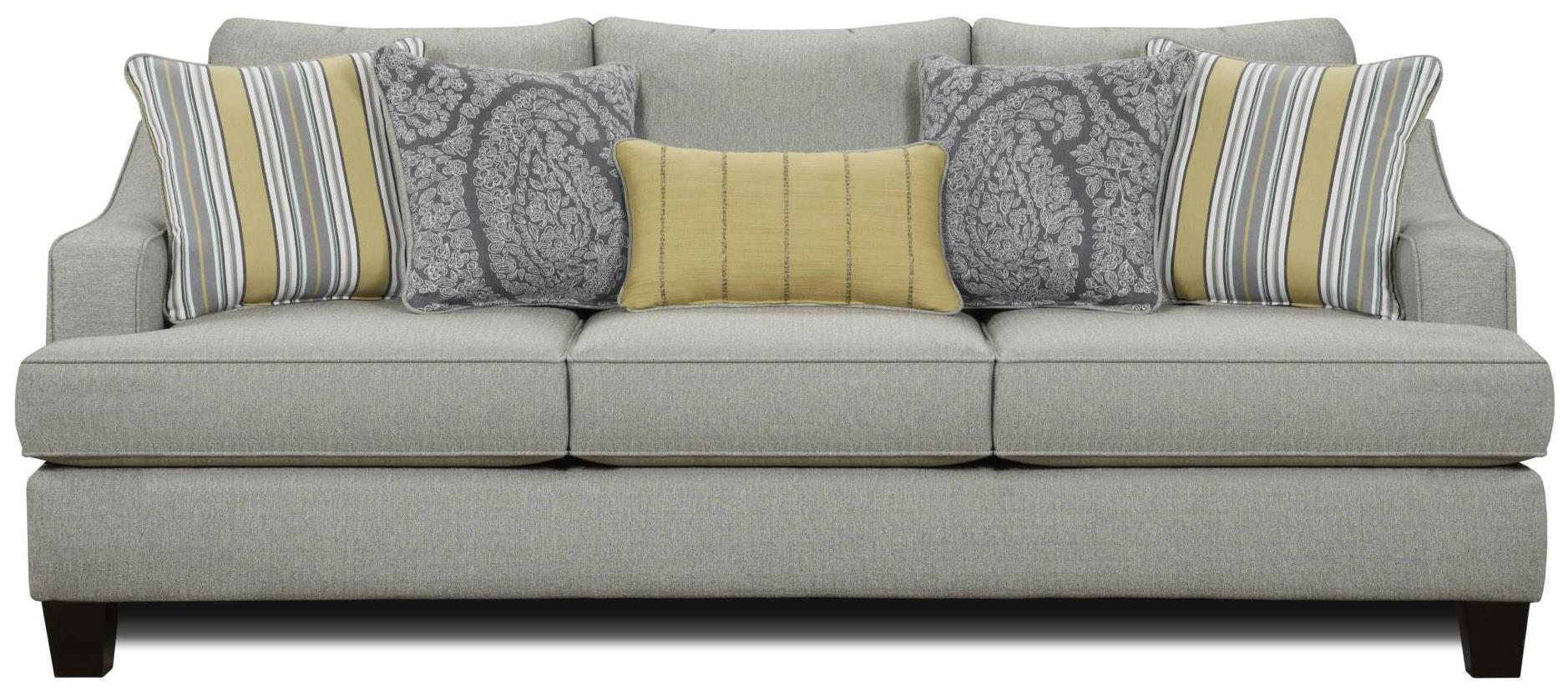 Cornell Pewter Sofa Chaise