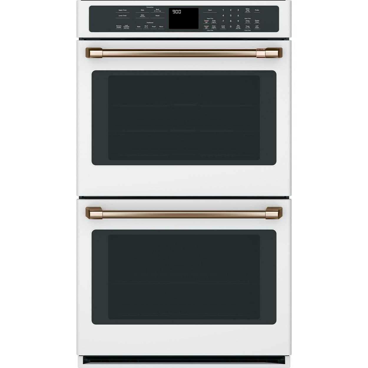 cafe 30 smart double wall oven