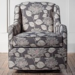 Hallagan Furniture Accent Chairs Customizable Swivel Glider Chair Wayside Furniture Upholstered Chairs