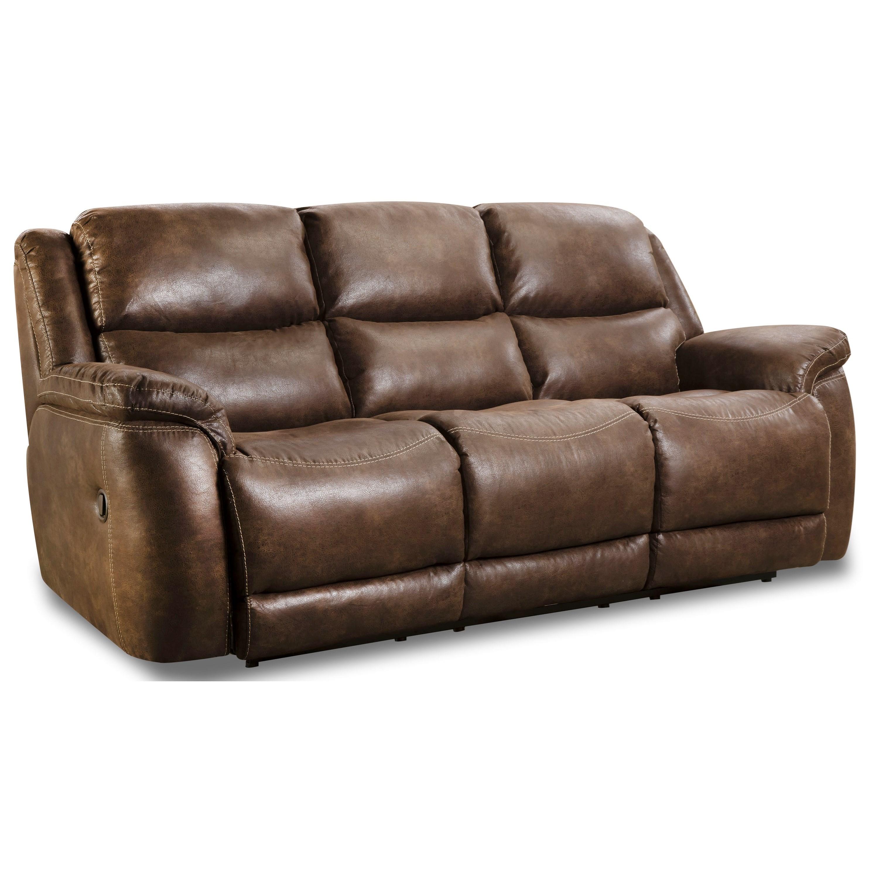 riatta double reclining sofa