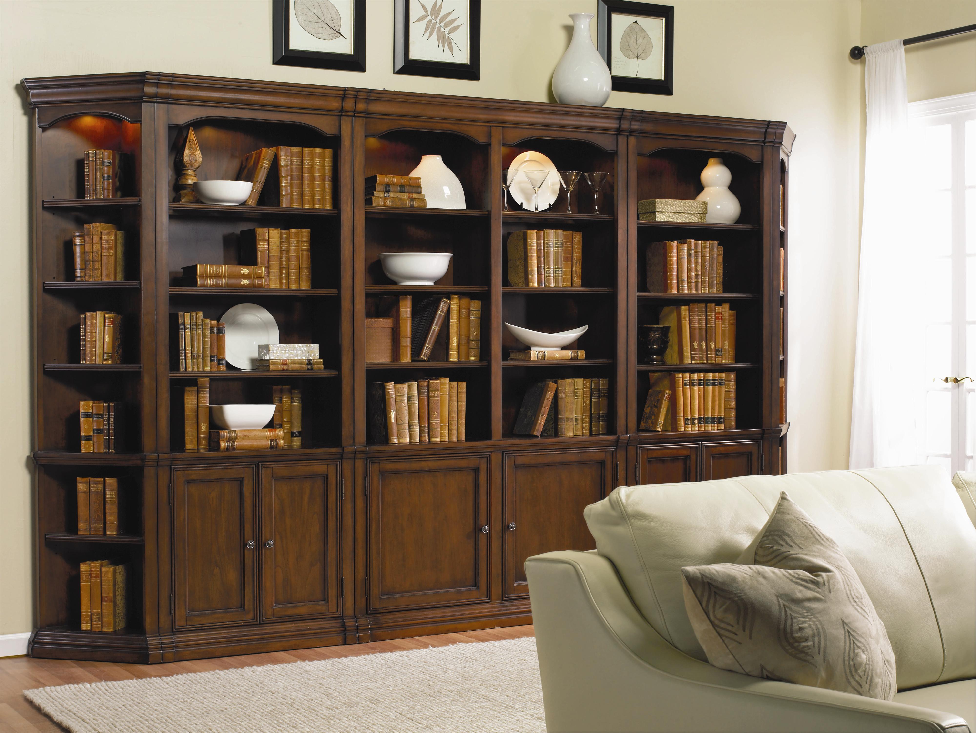 Hooker Furniture Cherry Creek Traditional Bookcase Modular
