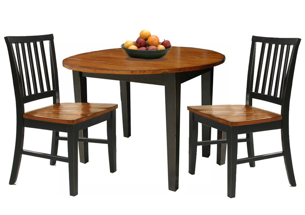 Intercon Arlington 3 Piece Dining Set With Two Drop Leaves