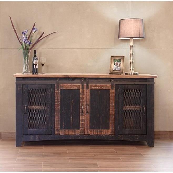 International Furniture Direct Pueblo IFD370STAND 70 70 TV Stand Sam Levitz Furniture TV Stands