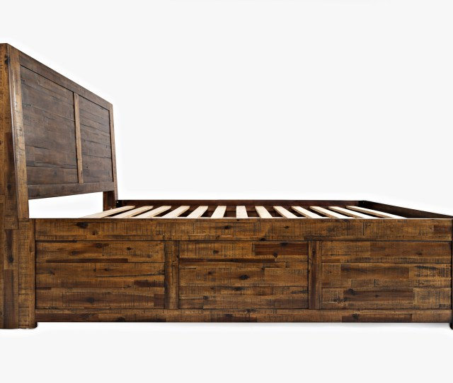 Jofran Sonoma Creek King Size Storage Bed