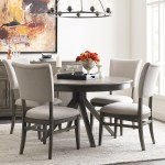 Kincaid Furniture Cascade Round Dining Table Set With 4 Chairs Becker Furniture Dining 5 Piece Sets