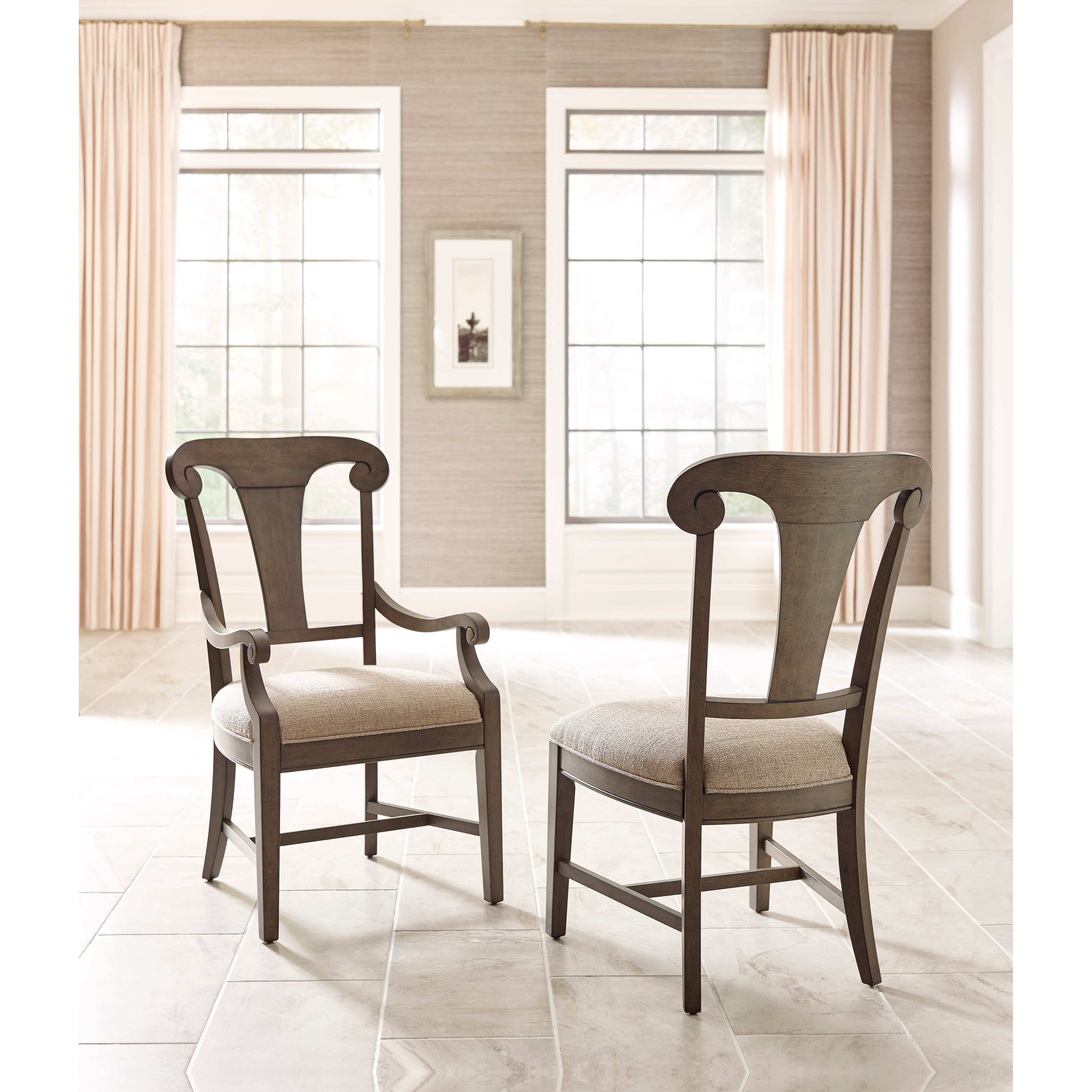 Kincaid Furniture Greyson Seven Piece Dining Set With