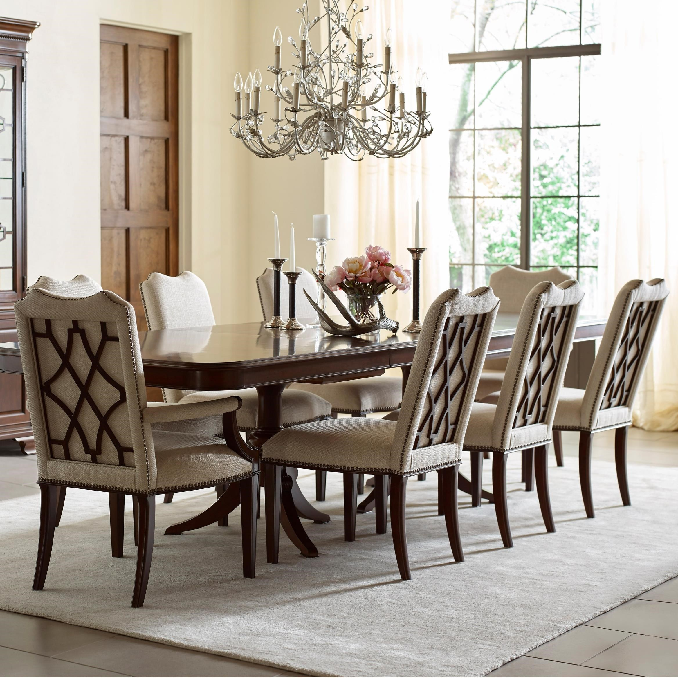 Kincaid Furniture Hadleigh Nine Piece Formal Dining Set