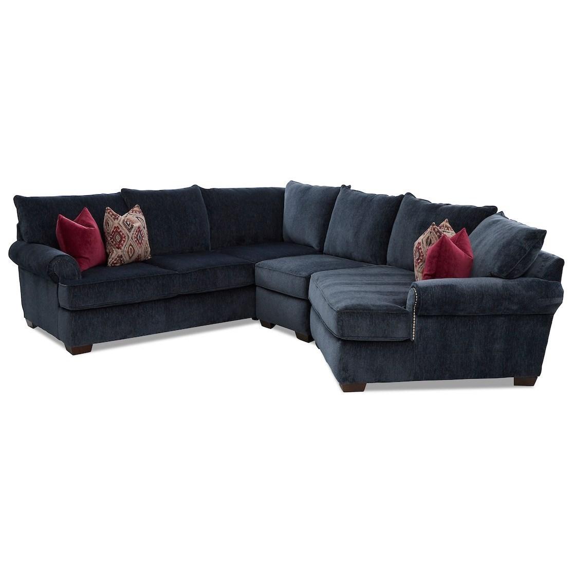 4 seat sectional sofa