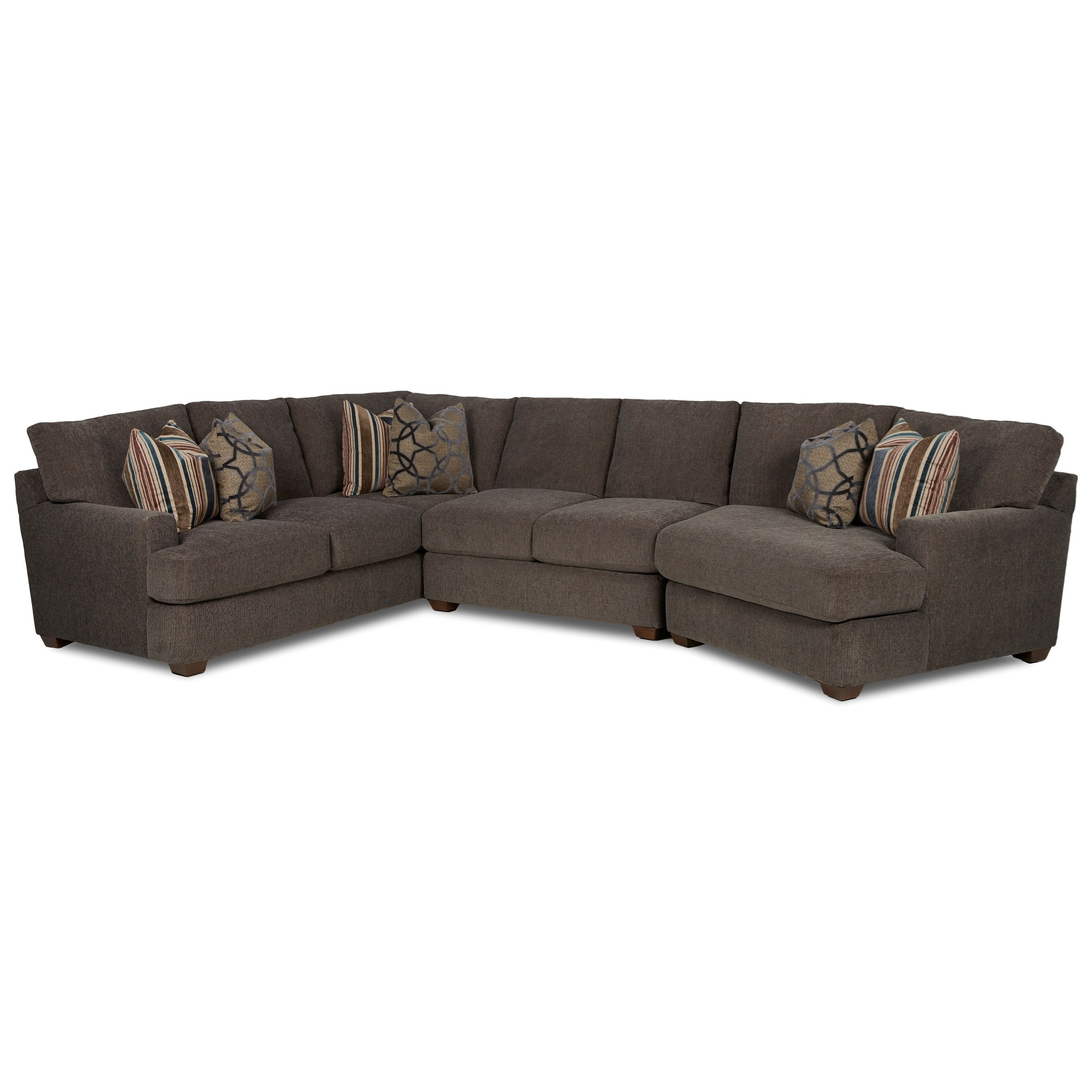 piece sectional sofa with raf cuddler