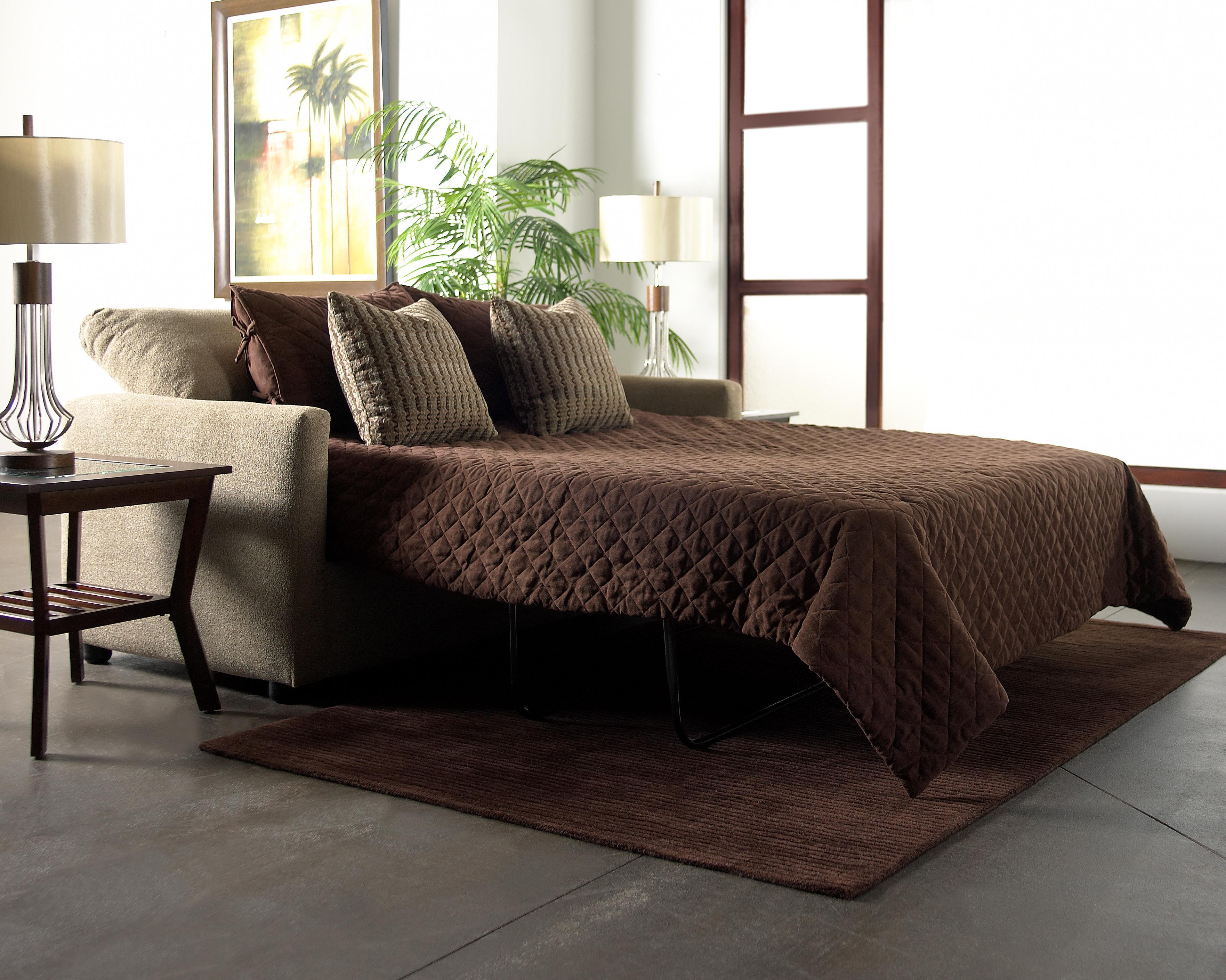 Klaussner Jacobs Regular Full Size Sleeper Sofa