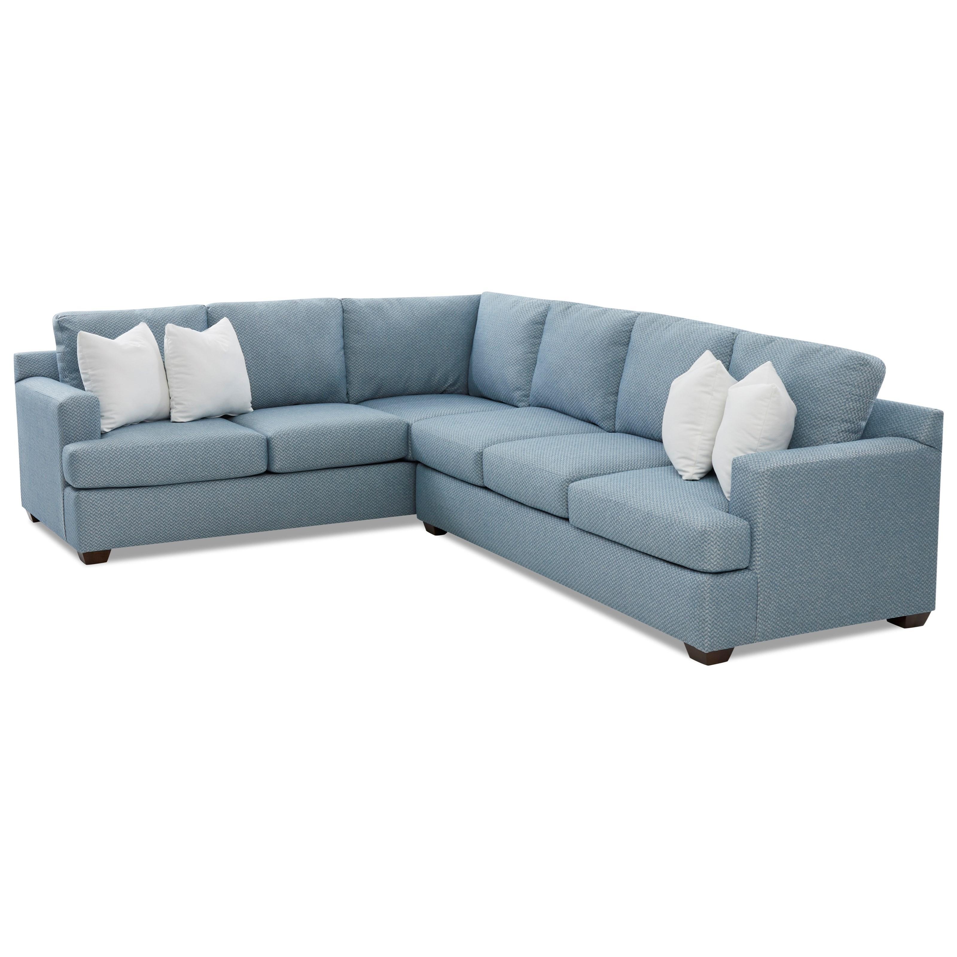juniper 5 seat sectional sofa with laf corner