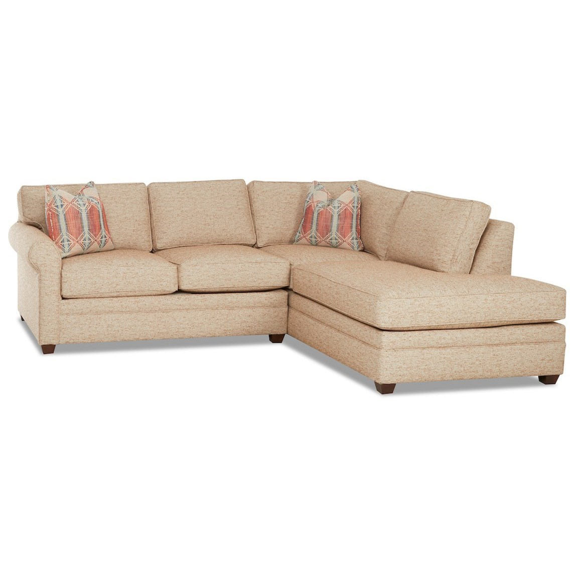 living your way 2 piece sectional sofa w raf sofa chaise