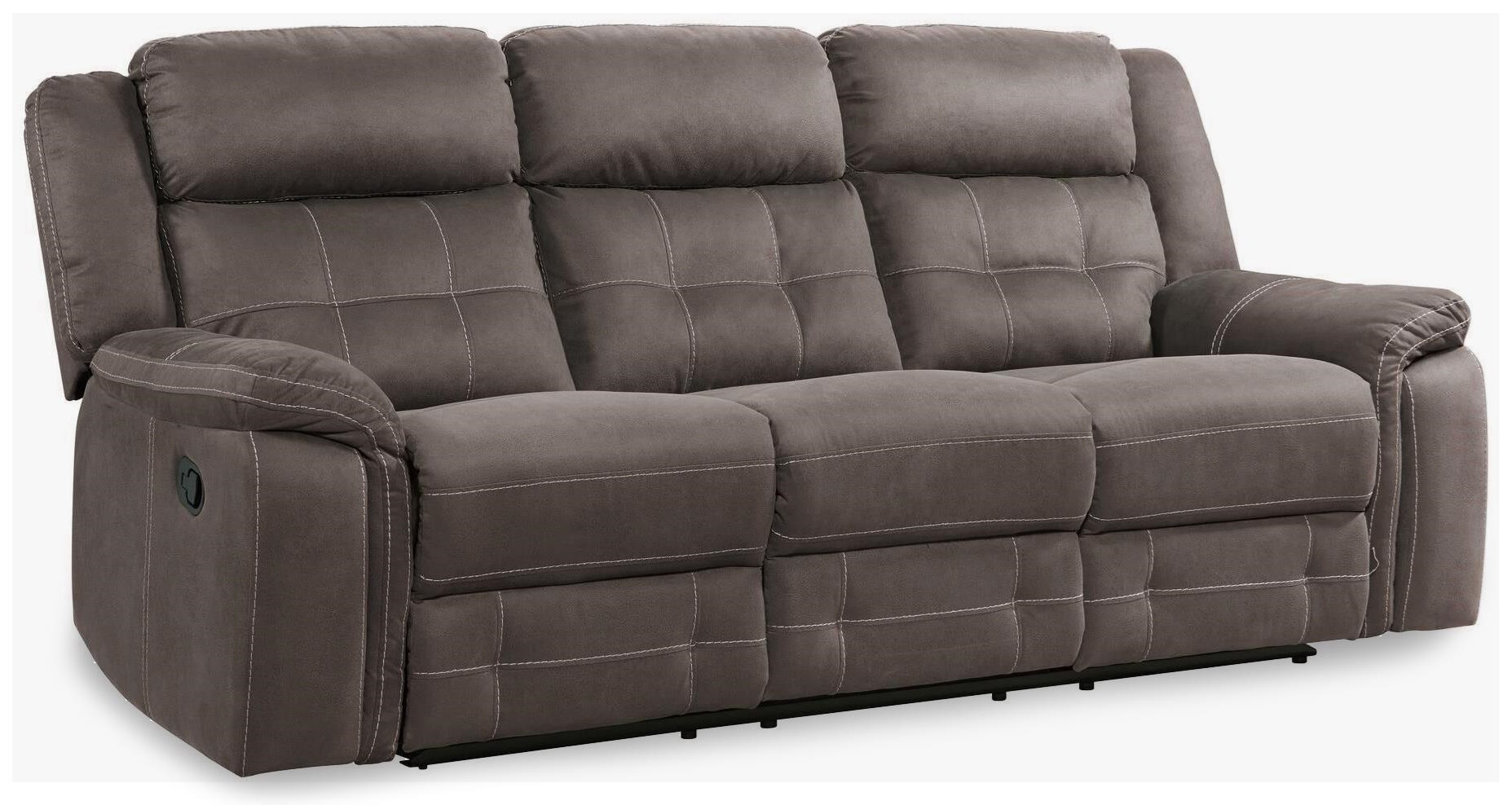 keystone dual reclining sofa