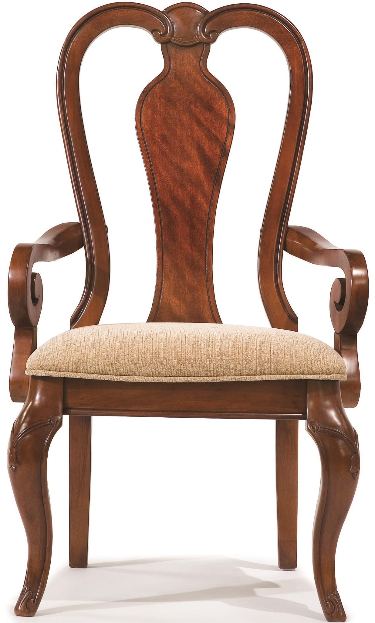 Legacy Classic Evolution Queen Anne Arm Chair With