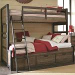 Legacy Classic Kids Fulton County Twin Over Full Bunk Bed With 3 Storage Drawers Lindy S Furniture Company Bunk Beds