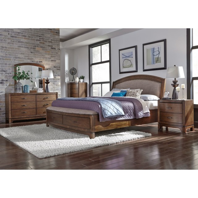 Liberty Furniture Avalon III Queen Bedroom Group Wayside