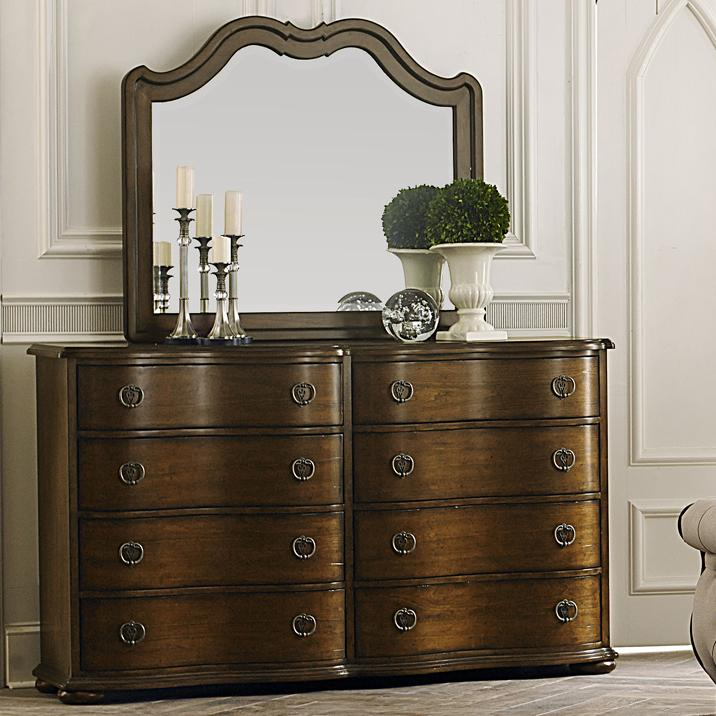 liberty furniture cotswold transitional 8 drawer dresser and