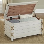 Liberty Furniture Dockside Ii Coastal Storage Trunk With Rope Accents Zak S Home Cedar Chests Trunks
