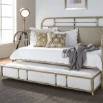 Liberty Furniture Vintage Series Twin Metal Trundle Daybed With Turned Spindles Zak S Home Daybeds