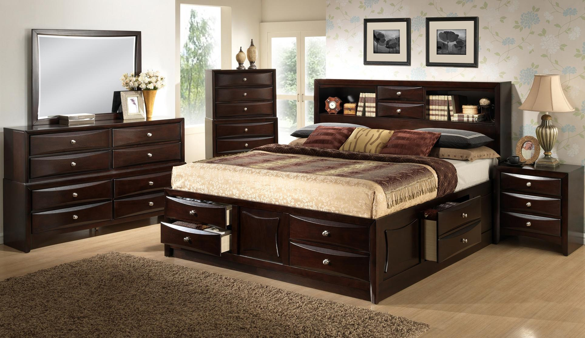 Lifestyle C King California King Storage Bed W