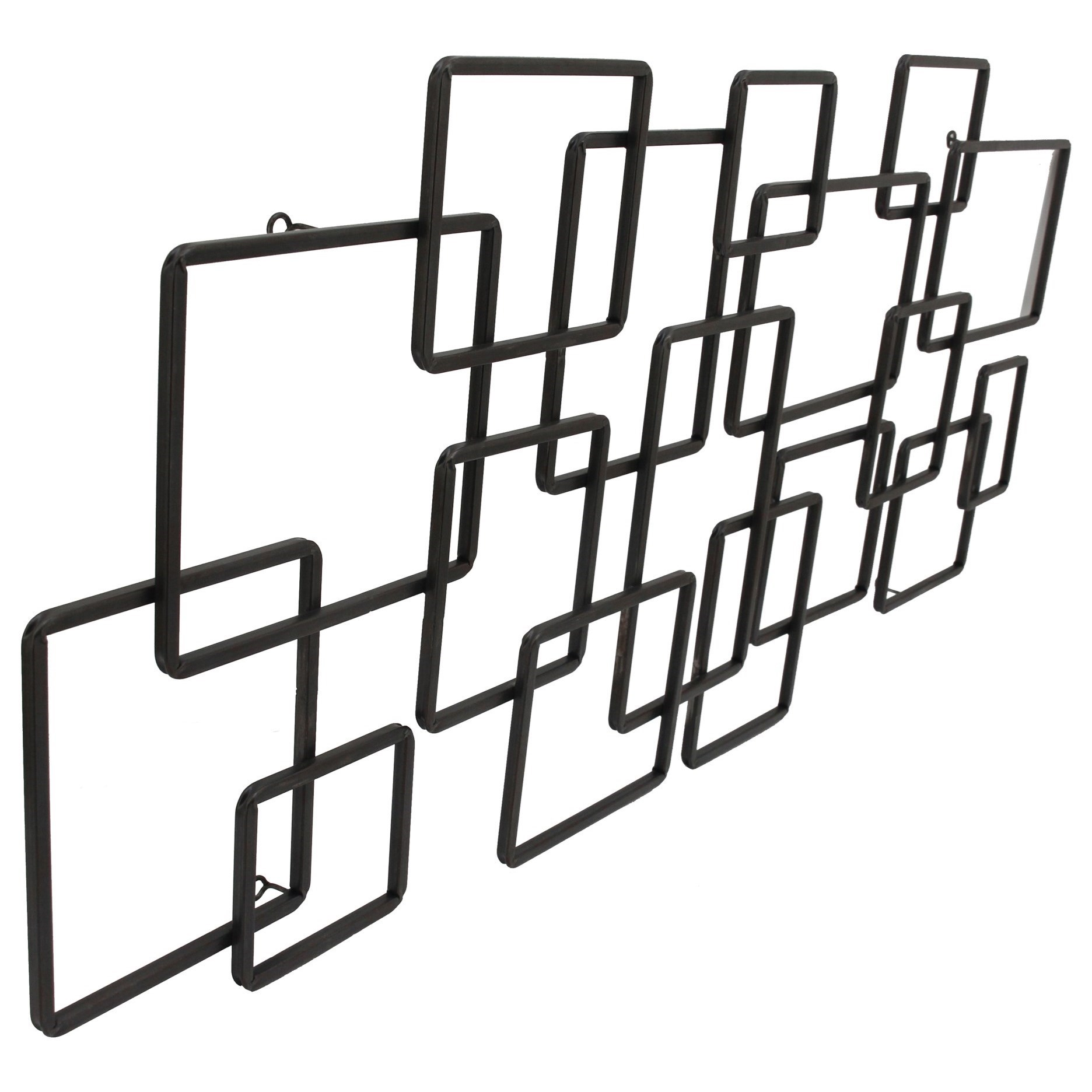 Moe S Home Collection Wall Decor Steel Squares Wall Decor
