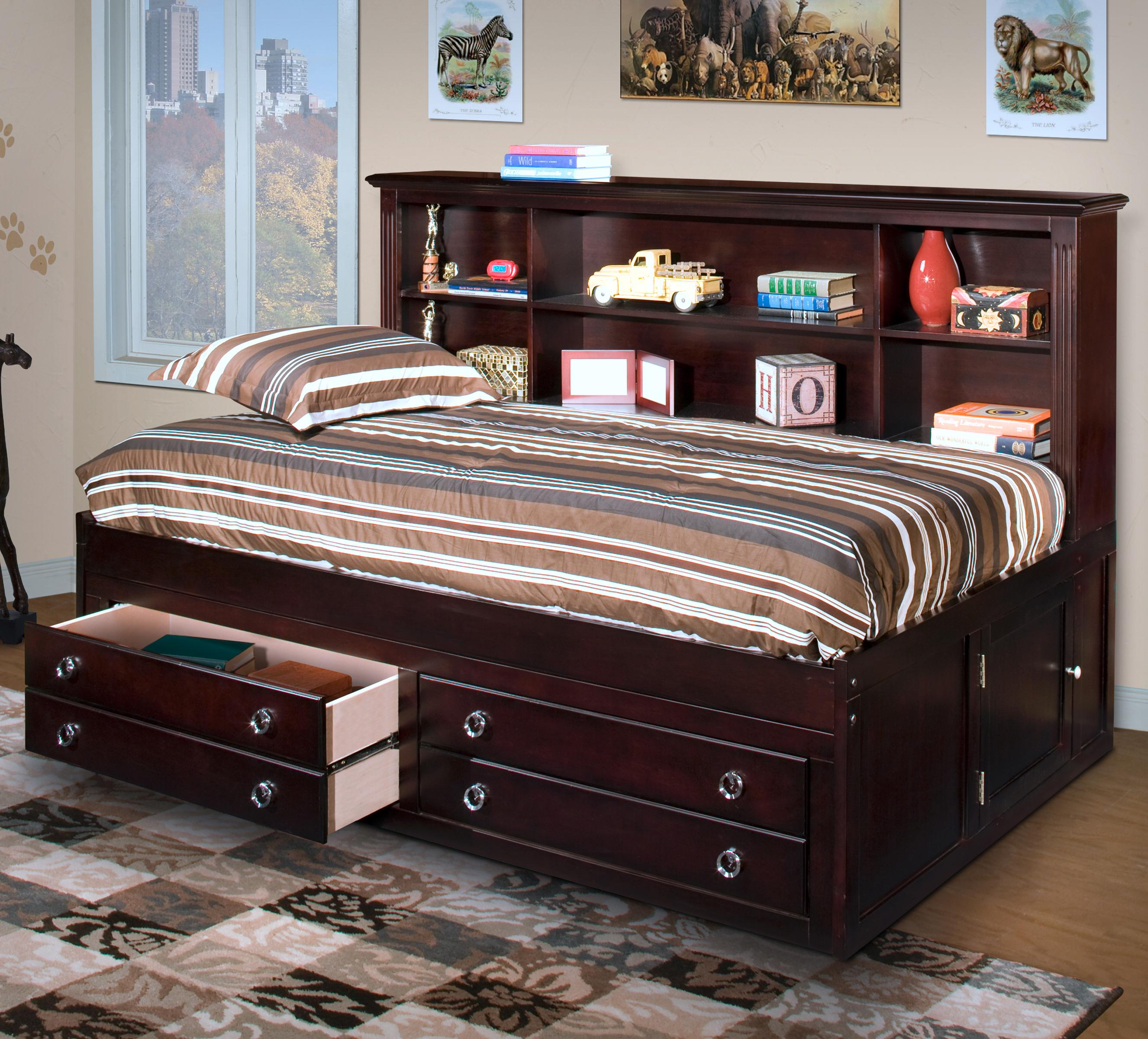 Victoria Twin Lounger Captain S Bed By New Classic At Wilson S Furniture