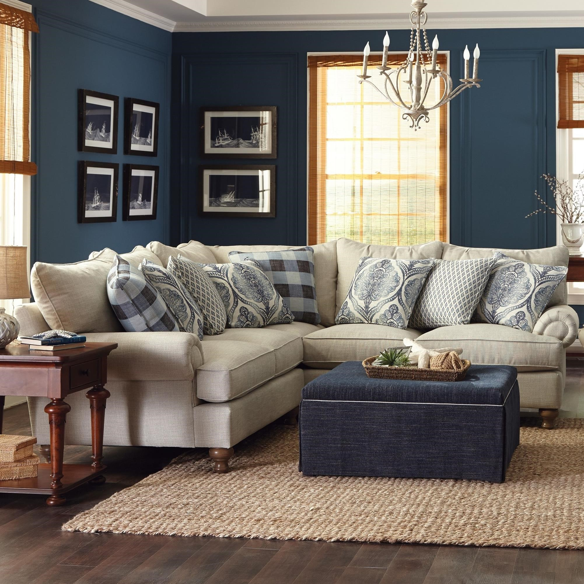 Paula Deen By Craftmaster P711700 2 Piece Sectional Sofa