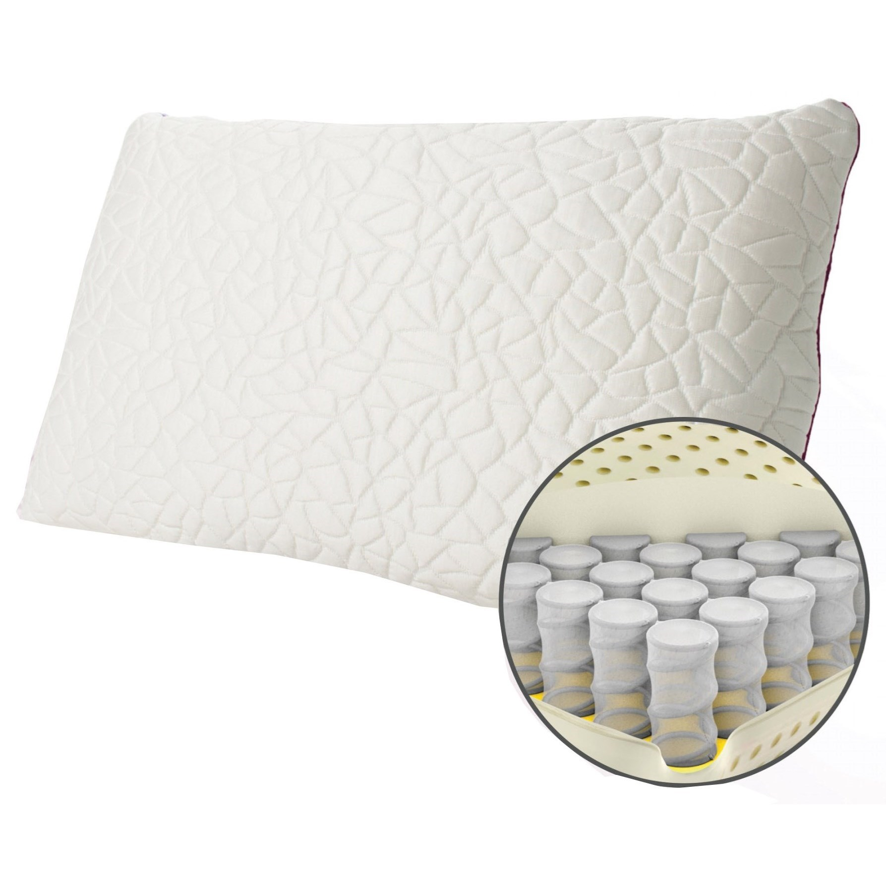 snow memory foam hybrid pillow queen snow memory foam hybrid medium pillow