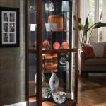 Pulaski Furniture Curios 705139790 Pacific Heights Curio Cabinet Baer S Furniture Curio Cabinets