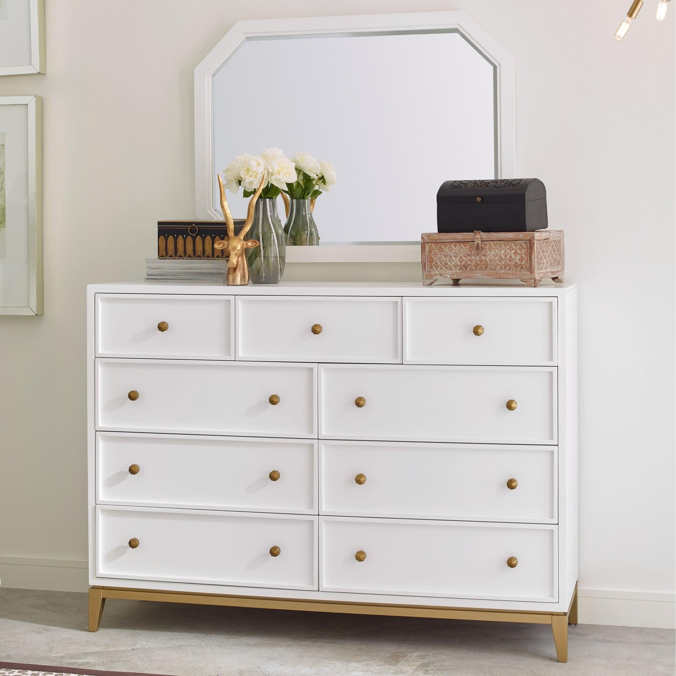 chelsea dresser and mirror set