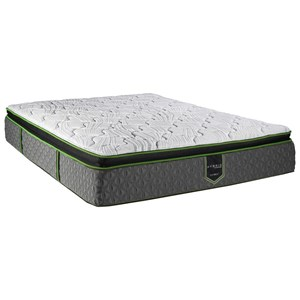 Restonic Misk Cc Hybrid Journey Pt King 12 1 2 Pillow Top Mattress