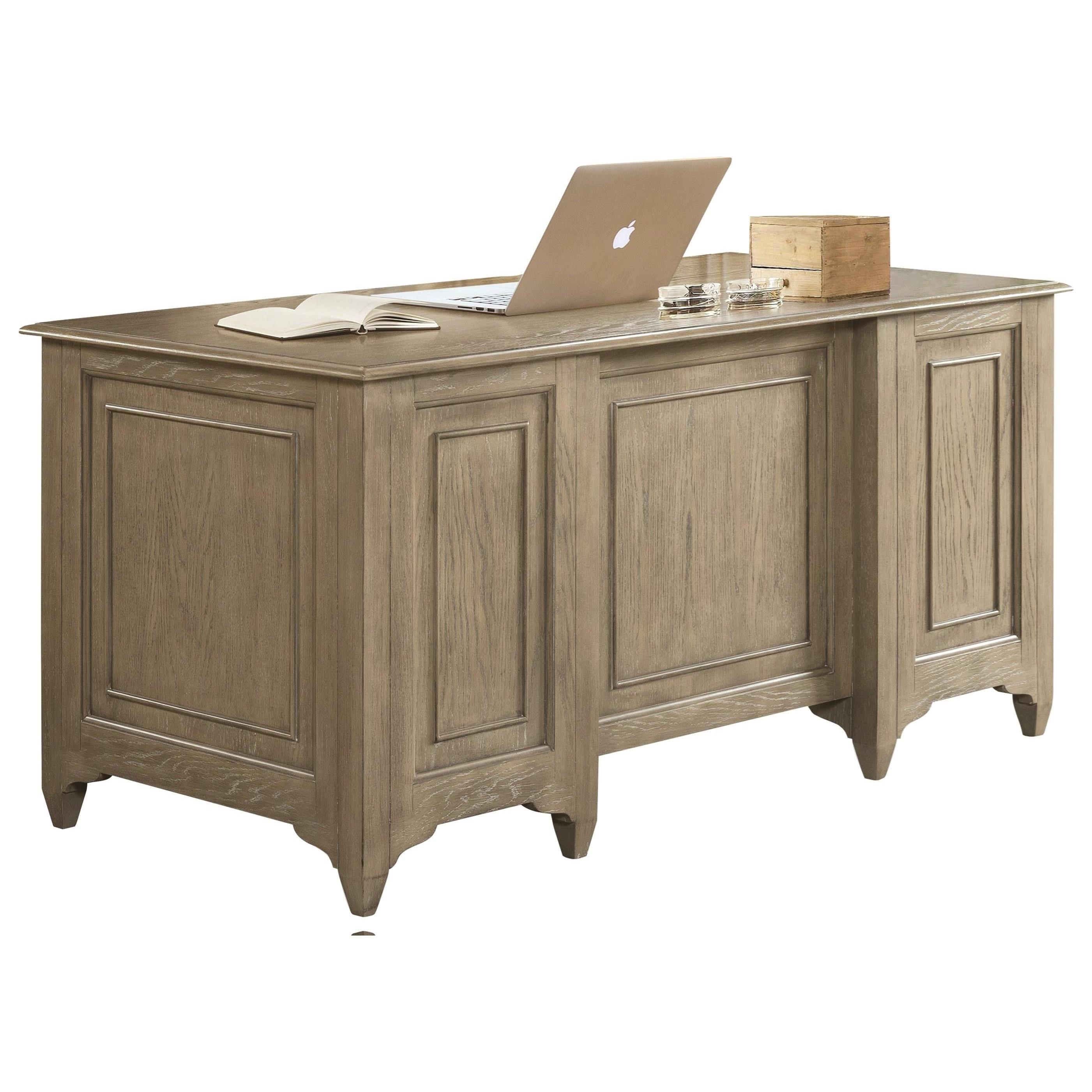 Riverside Furniture Myra 59420 Executive Desk With File Drawers Hudson S Furniture Double Pedestal Desks