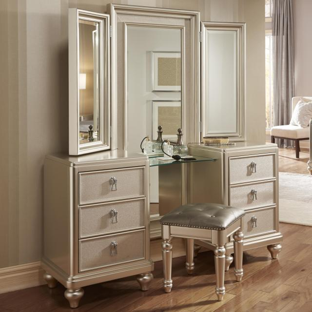 Samuel Lawrence Diva Vanity Tri View Mirror Miskelly Furniture