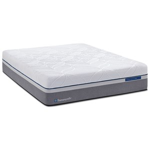 Sealy Copper Hybrid Plush Queen 13 1 2 Mattress Set