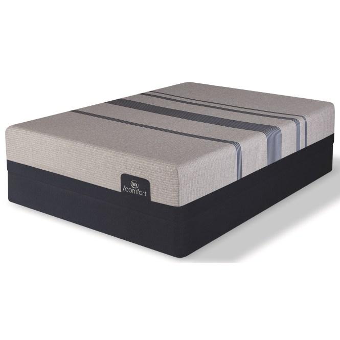 Serta Icomfort Blue Max 1000 Plush Queen Gel Memory Foam Lp Set Item Number