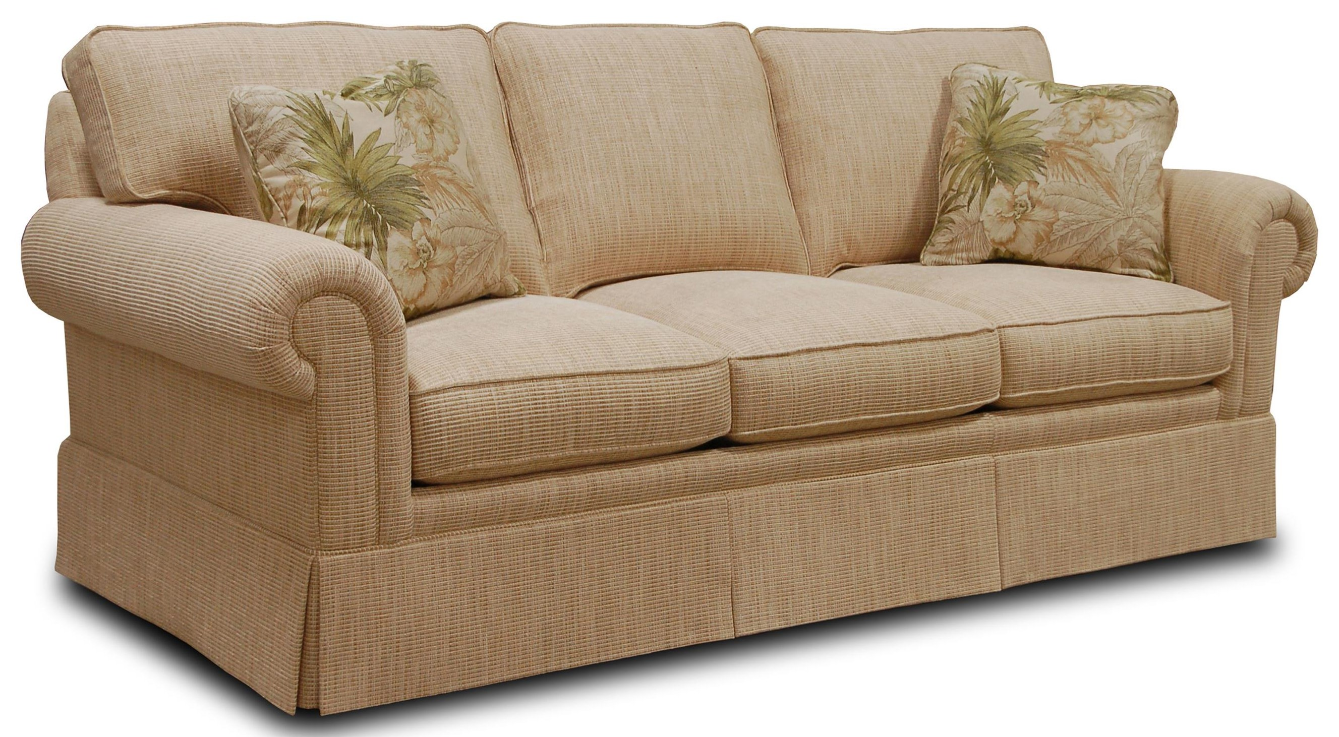 Sherrill Traditional 7066 33 Sleep Sofa With Loose Back