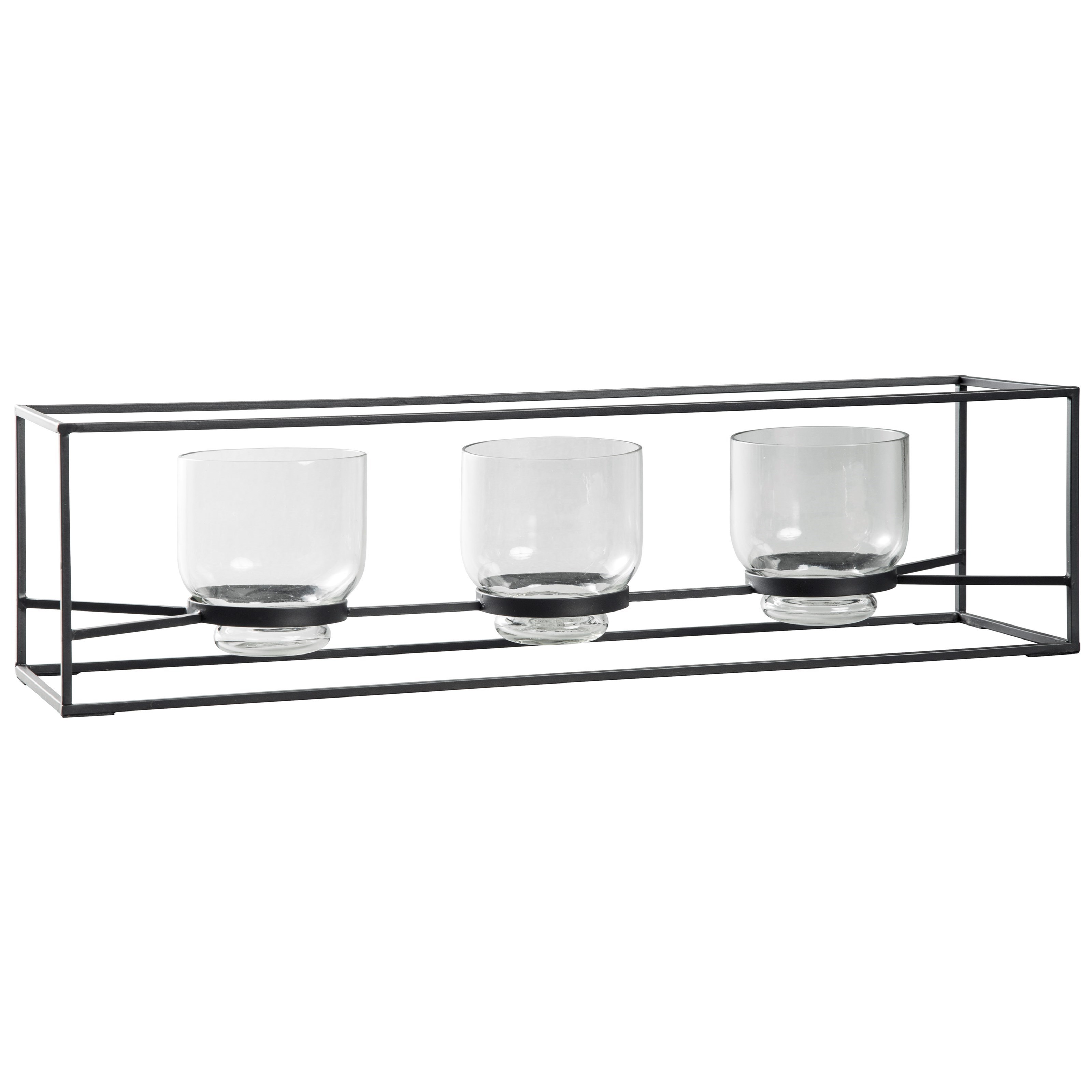 Signature Design By Ashley Accents Jadyn Black Candle Holder Royal Furniture Candle Holders