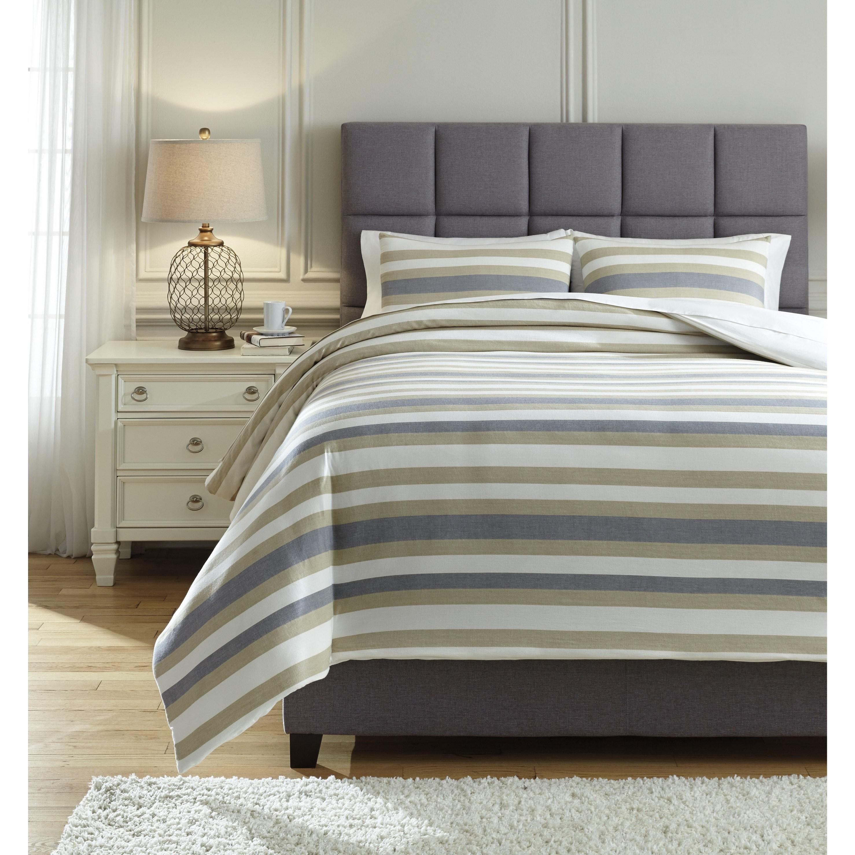 bedding sets queen isaiah gray tan comforter set