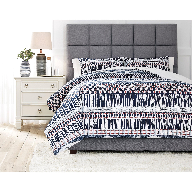 bedding sets shilliam navy rust king comforter set