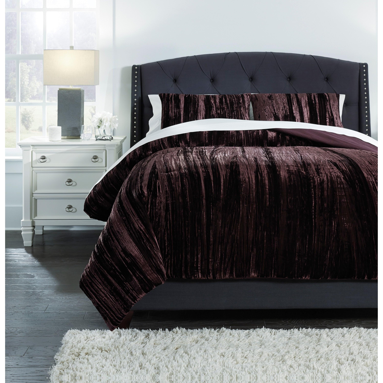 bedding sets queen wanete wine comforter set