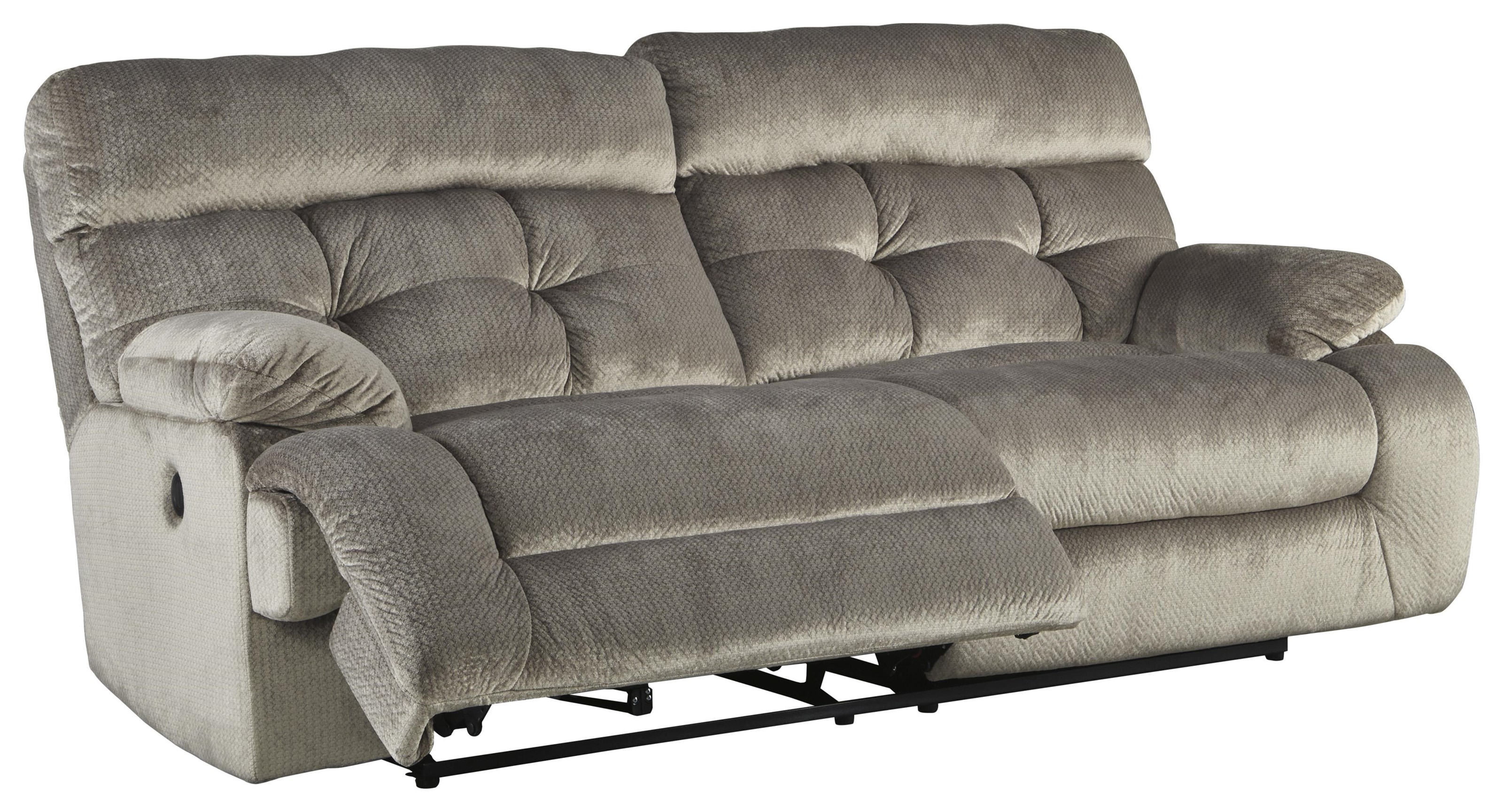 Signature Design By Ashley 17701 1770147 Reclining Power Sofa Furniture And Appliancemart Reclining Sofas