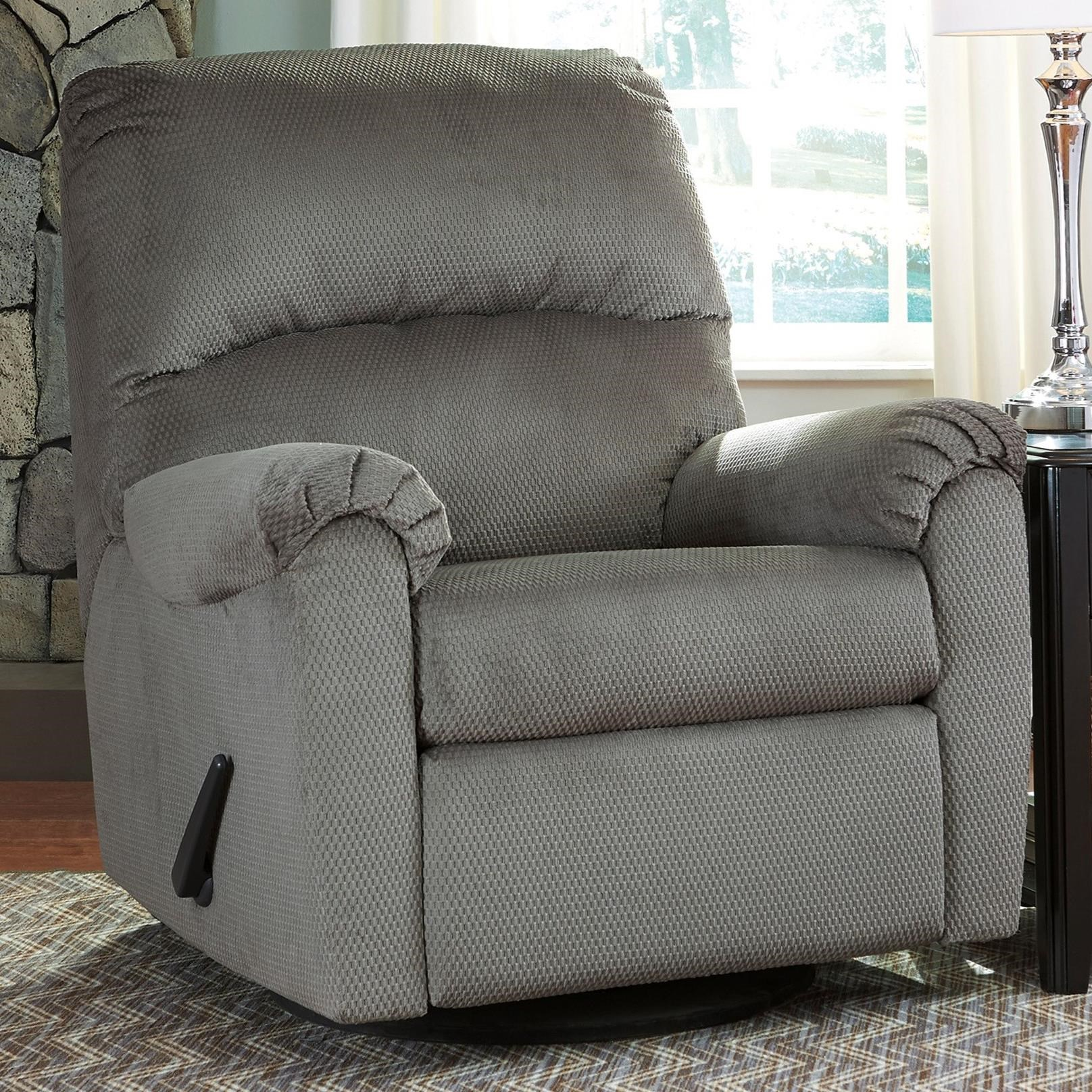 Signature Design By Ashley Bronwyn 2600261 Swivel Glider