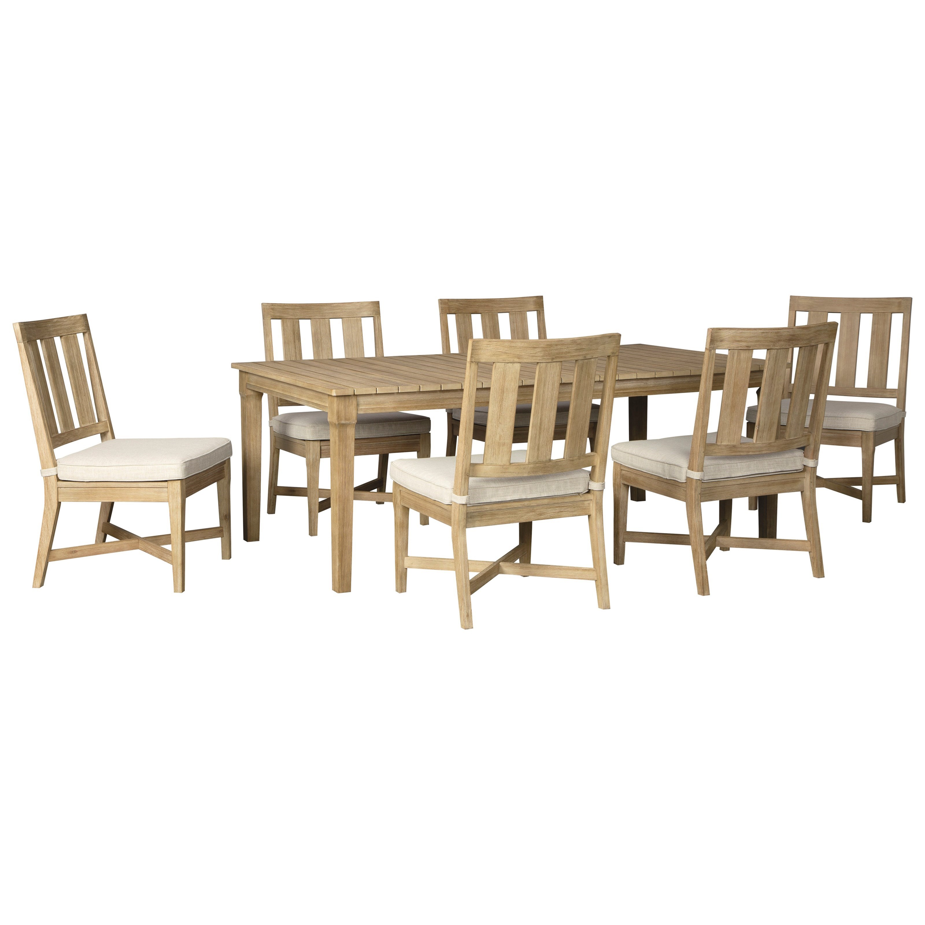 clare view 7 piece outdoor dining set