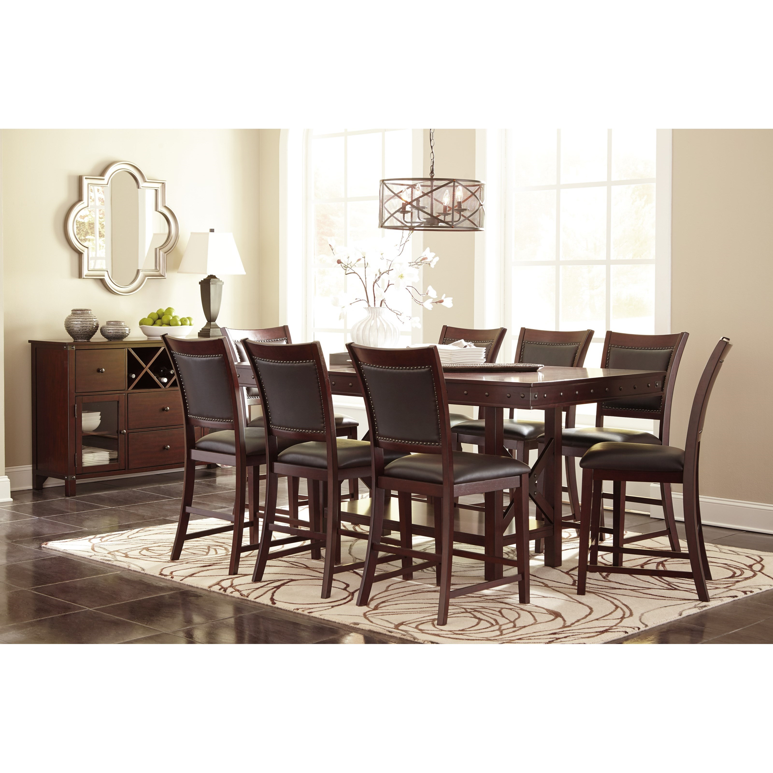 Signature Design By Ashley Collenburg Rectangular Dining Counter Extension Table Miskelly