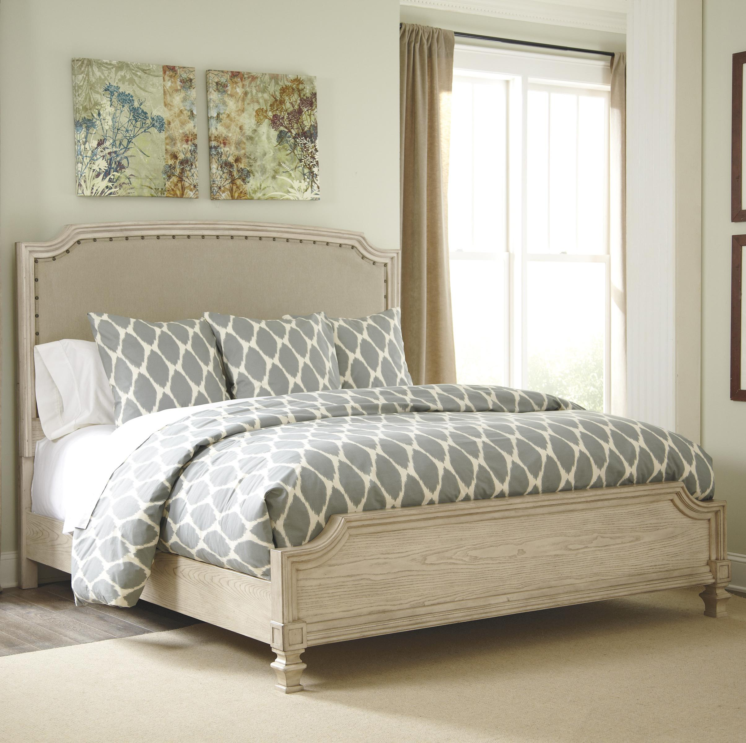 Signature Design By Ashley Demarlos King Upholstered Panel