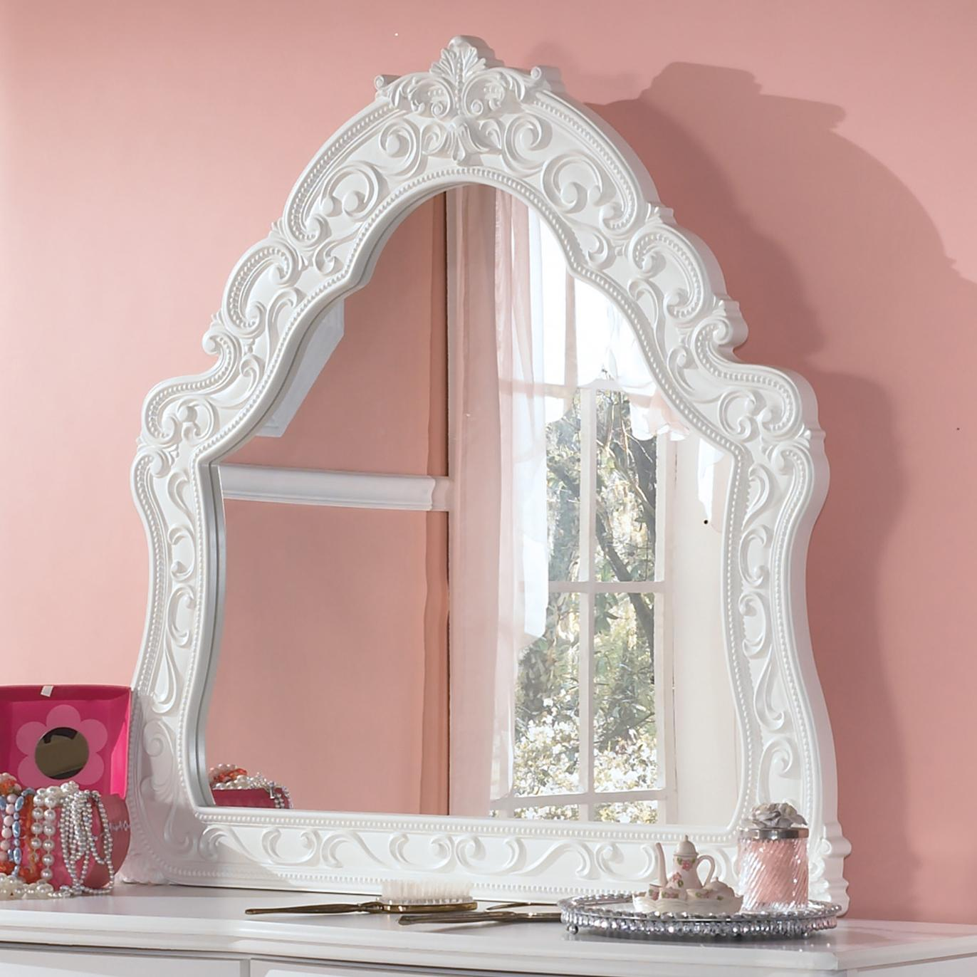 Signature Design By Ashley Exquisite Ornate Arched Bedroom