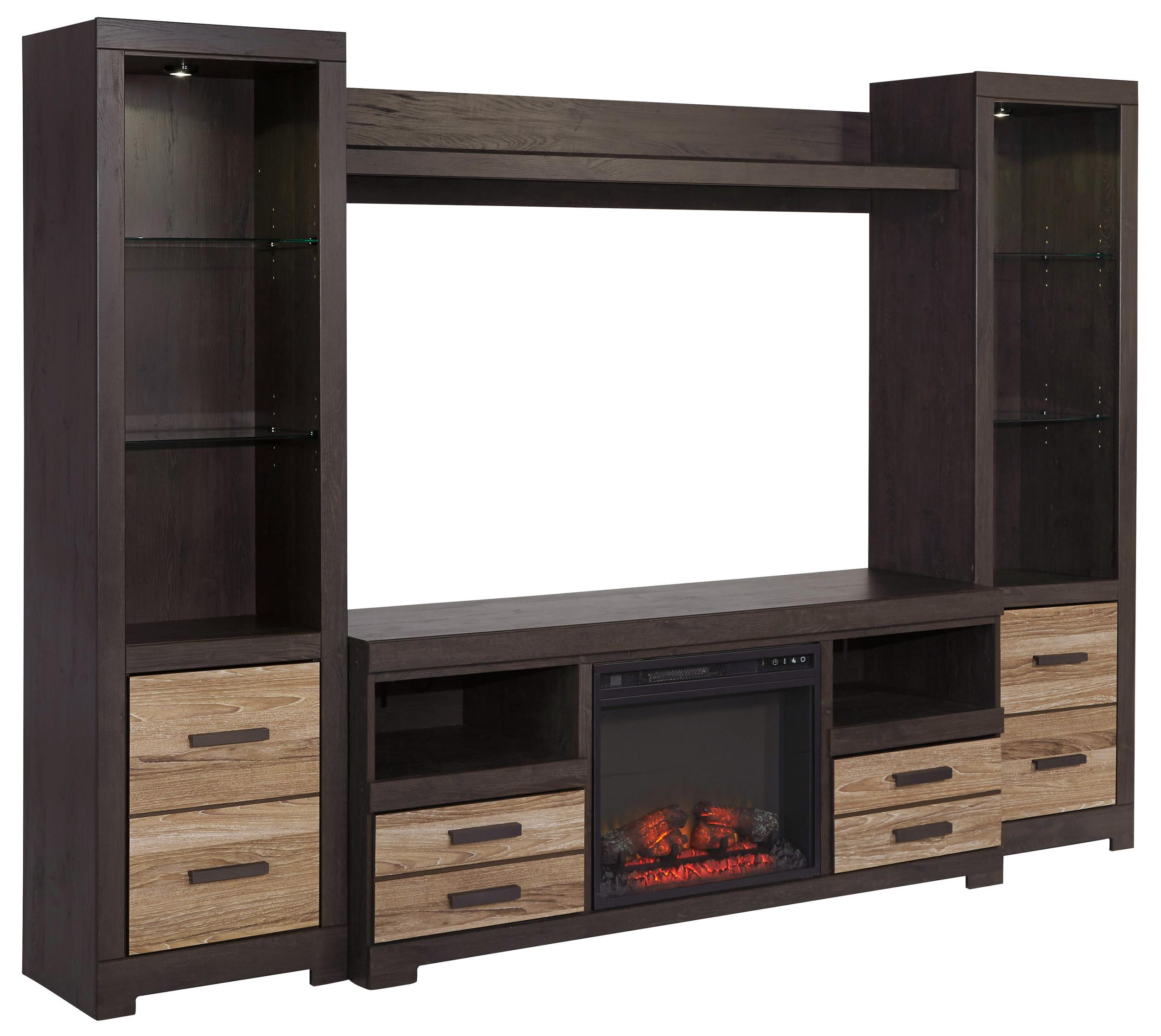Signature Design By Ashley Harlinton Large TV Stand With