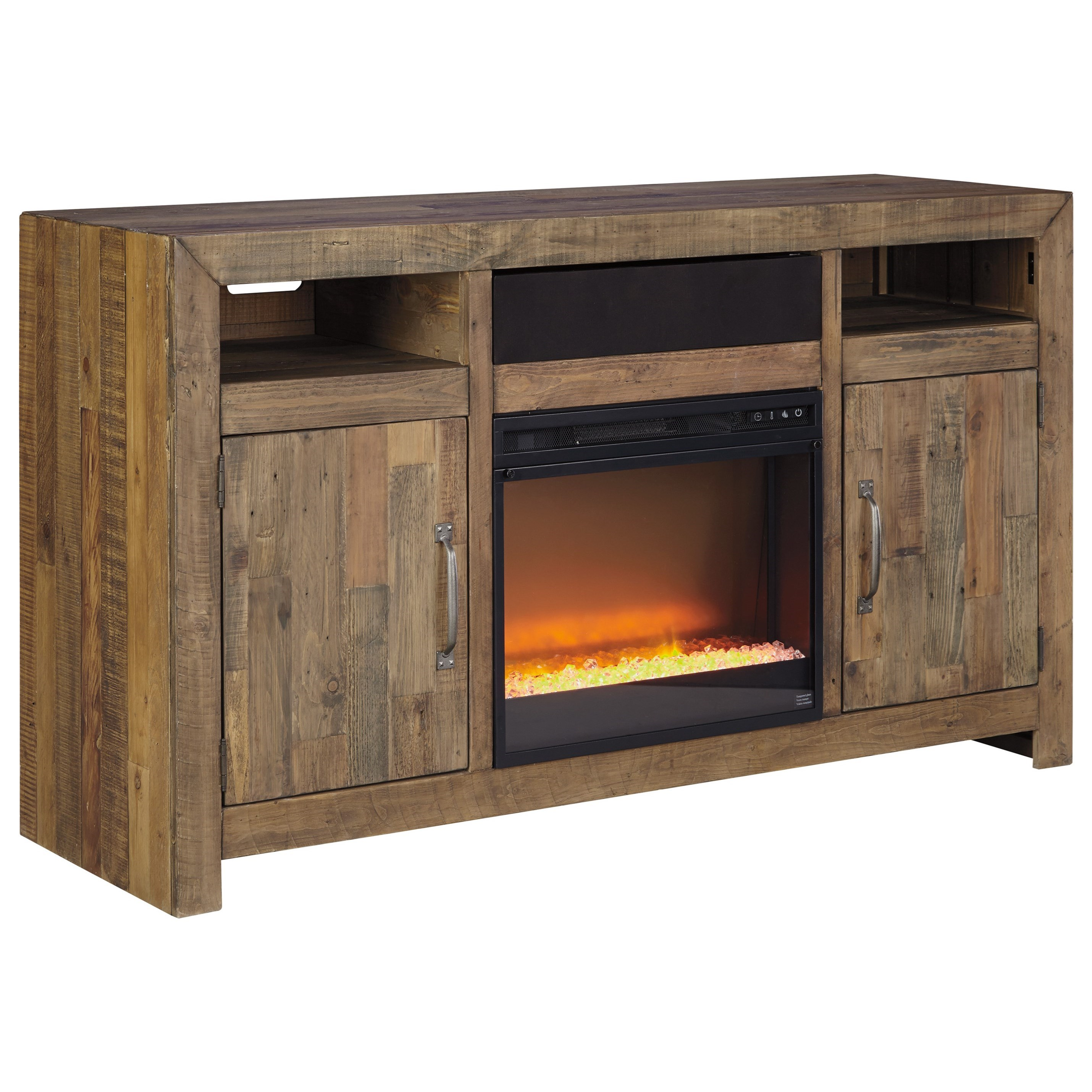 Ashley Signature Design Sommerford Reclaimed Pine Solid